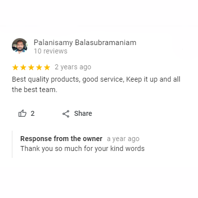 our client review